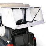 Club Car DS /  Precedent Vinyl White Club Protector (Fits 2000-Up)