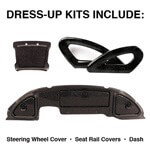 Club Car Precedent Professional Carbon-Fiber Dress-up Kit (Fits 2004-2008)