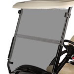 Club Car DS Tinted Hinged 1/ 4 Windshield (Fits 2000-Up)