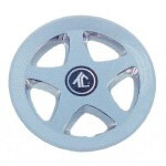 "8"" Chrome 5-Spoke Wheel Cover"