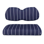 Club Car Precedent Cooper Navy Seat Covers (Fits 2004-Up)