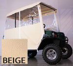 3-SIDED OVER-THE-TOP ENCLOSURE FOR EZGO TERRAIN(BEIGE COLOR)
