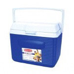10-Qt. Blue /  White Rubbermaid Ice Chest