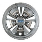 "8"" Chrome Cragar ""SS"" Wheel Cover"