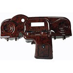 E-Z-GO RXV Elite Radio Console Woodgrain Dash (Fits 2008-Up)