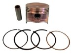 Club Car Piston /  Ring Assembly (Fits 1996-Up)