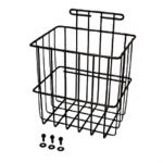 E-Z-GO Medalist /  TXT Black Side Basket W/  Hardware (Fits 1994-Up)