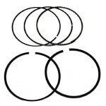 Set of (2) E-Z-GO Gas 350cc 4-Cycle Piston Ring Set 0.25mm (Fits 1996-2003)