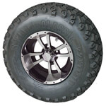 Set Of (4) 10″ Storm Trooper Wheels On A/ T Tires (Lift Required)