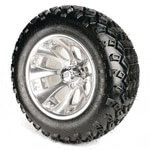 Set Of (4) 12'' Claw Wheel On A/ T Tires (Lift Required)