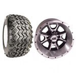 "Set Of (4) 12"" Tremor Wheels & A/ T Tires (Lift Required)"