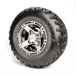 "Set Of (4) 8"" Ranger Wheels On A/ T Tires (No Lift Required)"