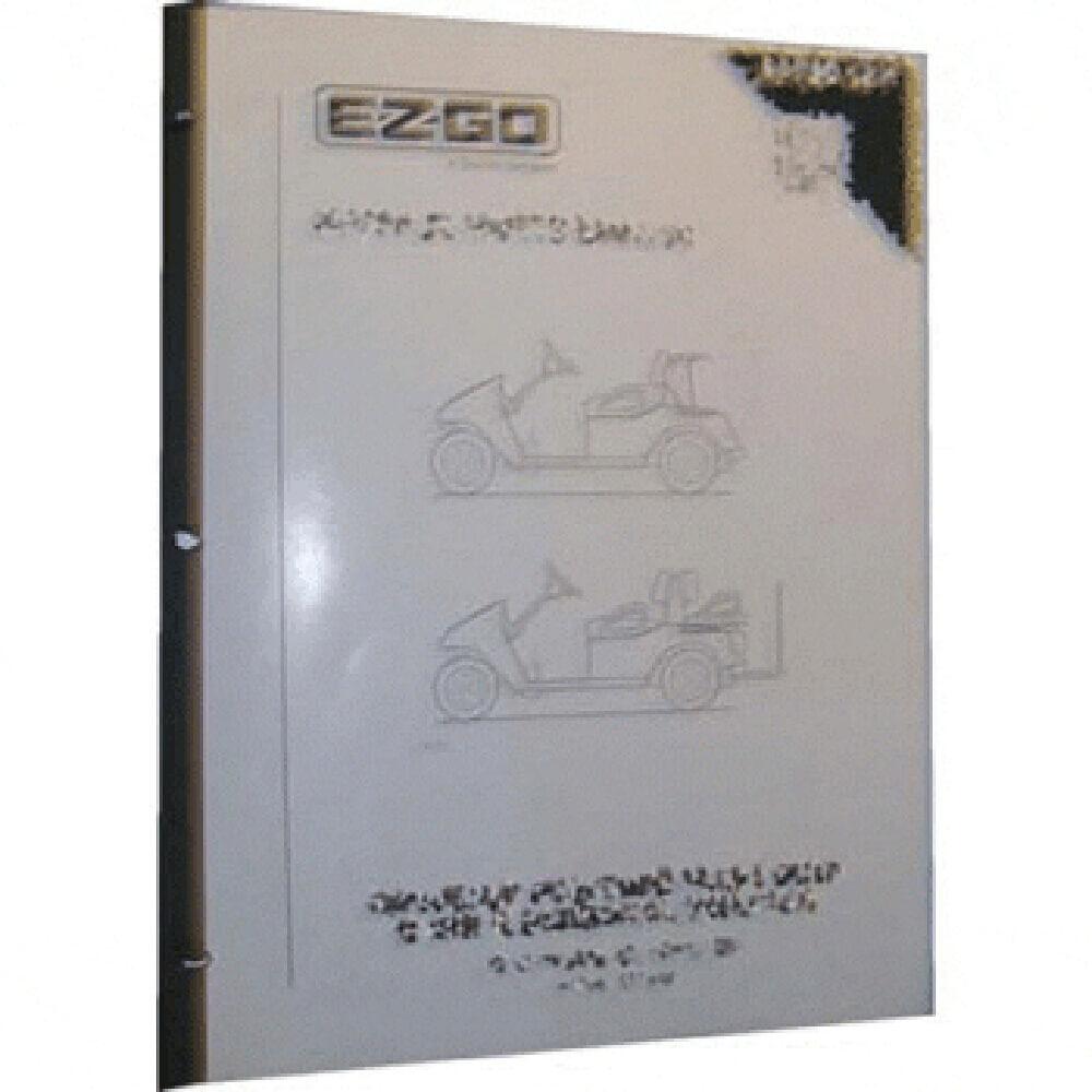 E-Z-GO RXV Electric Parts Manual (Fits 2010-Up ...