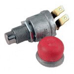 E-Z-GO Horn Switch (Fits 1975-Up)