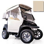 Club Car Precedent Beige 3-Sided Track-Style Enclosure (Fits 2004-Up)