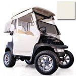 Club Car Precedent Ivory 3-Sided Track Style Enclosure (Fits 2004-Up)