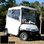 3-sided Over-the-top Enclosure For EZGO Txt(black)