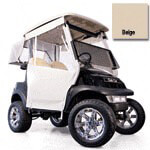 E-Z-GO TXT Beige 3-sided Track Style Enclosure (Fits 1994.5-Up)