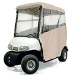 3-sided Over-the-top Enclosure For EZGO RXV W/ New Style Top(sand)