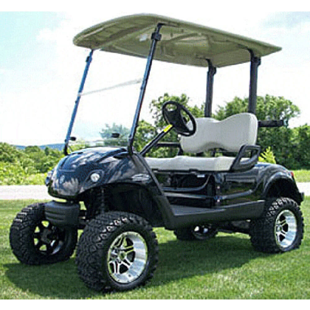 how to make a lift kit for a golf cart