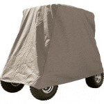 Grey Storage Cover For Carts W/  Standard Tops (Universal Fit)