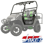 Jake's Baja Cage Kit for E-Z-GO RXV (Fits 2008-Up)