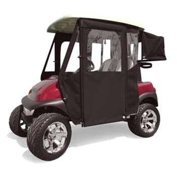 Club Car Precedent Black Sunbrella Door Max Enclosure