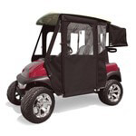E-Z-GO RXV Black Sunbrella Door Max Enclosure (Fits 2008-Up)