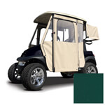 E-Z-GO RXV Forest Green Sunbrella Door Max Enclosure (Fits 2008-Up)