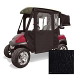 E-Z-GO RXV Black Vinyl Door Max Enclosure (Fits 2008-Up)