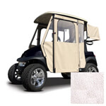 Yamaha G29/ Drive White Vinyl Door Max Enclosure (Fits 2007-Up)