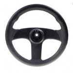 Club Car Carryall Gas Steering Wheel (Fits 2004-2006)