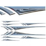 Chrome Lance 3-D Decal Kit (Universal Fit)