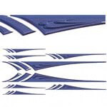 Blue 3D Lance Decal Kit (Universal Fit)