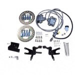 Jake's Non-lifted Club Car Precedent Front Disc Brake Kit (Fits 2008.5-Up)
