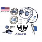 Jake's Club Car DS Front Disc Brake Kit W/  Spindle Lift (Fits 1981-2008.5)