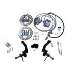 Jake's Hydraulic Front Disc Brake Kit For Club Car DS 04.08.5 (Non-lifted)