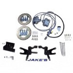 Jake's Club Car Precedent Non-Lifted Front Disc Brake Kit (Fits 2004-2008.5)