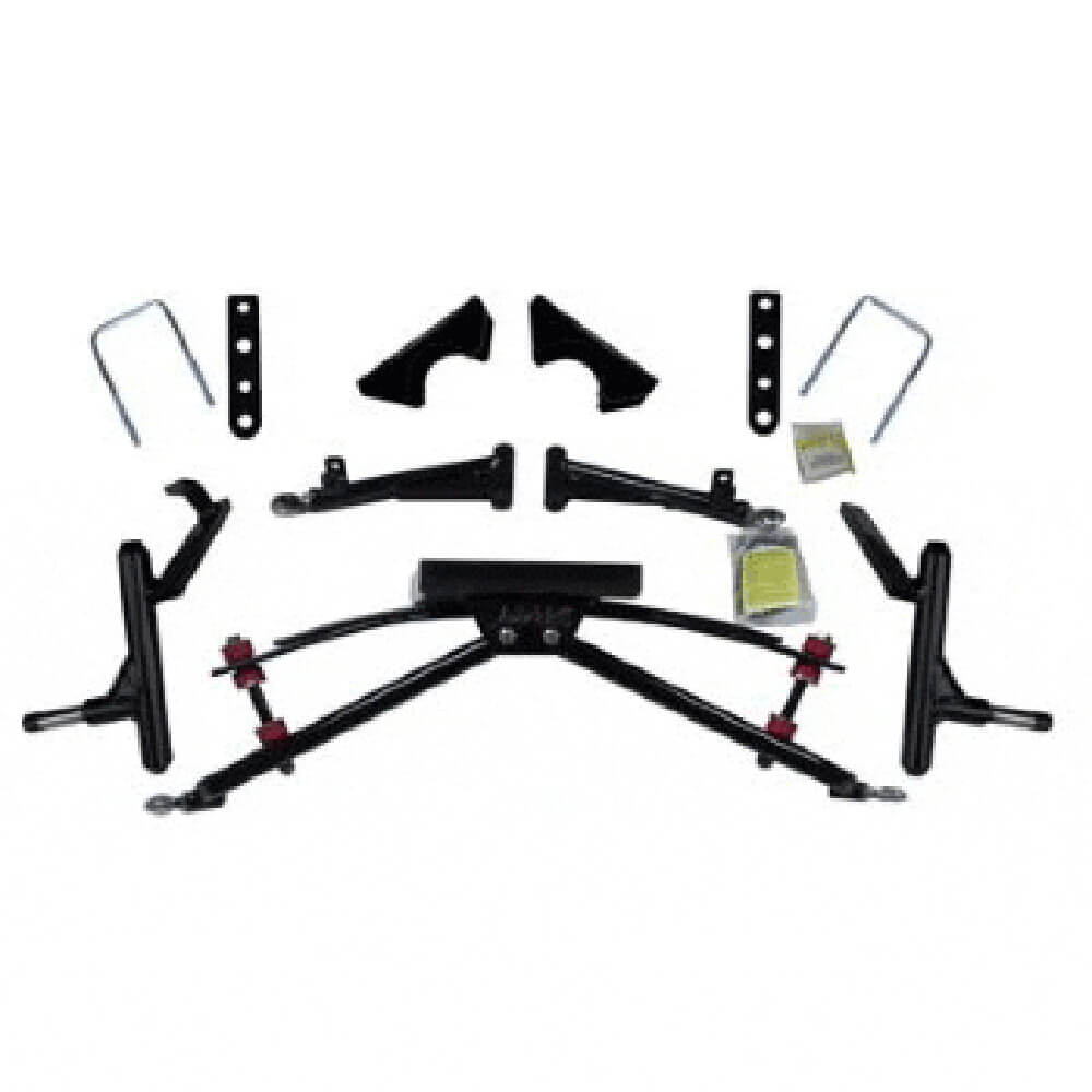 Lift kits for club car golf carts buggiesunlimited jakes club car ds 4 double a arm lift kit fits 2004 publicscrutiny Images