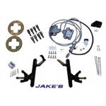 Jake's Disc Brake Kit - Club Car DS 08.5-UP with 4