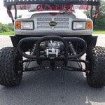 Jake's Winch Bumper Mount - Long Travel (Universal Fit)
