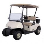 OEM REPLACEMENT TOP FOR EZGO RXV W/ BAG RACK MOUNT(OYSTER)*Our Price Includes Oversized Surcharge