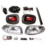 E-Z-GO RXV Gas Premium Light Kit (Fits 2008-2015)