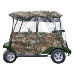 4-Sided Universal Camo Enclosure for most 2-Passenger Carts.