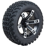 Set of (4) 14 inch Brute Wheels on A/ T Tires (Lift Required)