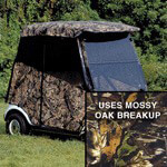 Camouflage Enclosures Club Car Precedent