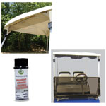 Tinted /  Clear Club Car Windshield Combo Kit (Fits 2000.5-Up)