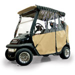 Wheat Sunbrella 3-Sided Custom Over-The-Top Enclosure (Select Models)