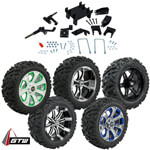 "GTW Lift Kit /  14"" Wheel & Barrage Mud Tire Combo - E-Z-GO RXV 48v Electric (Fits 2008-Up)"