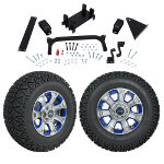 "GTW 5"" Lift w/ 12"" Nemesis Metallic Wheel & Recon A/ T Tire For Yamaha (G29/ Drive)"